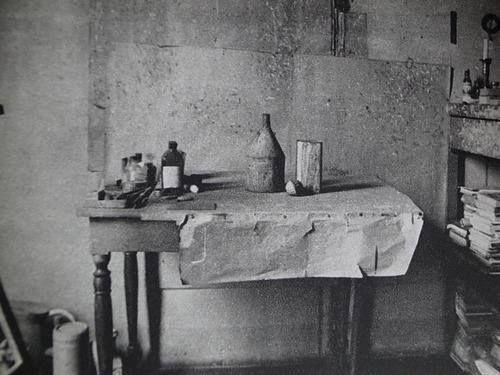 Luigi Ghirri - Lo studio di Giorgio Morandi