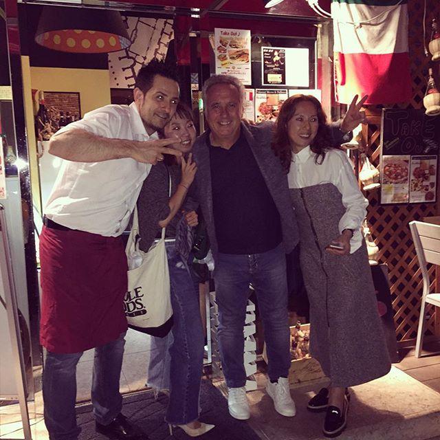 Italian dinner in Tokyo ! Thank you HB