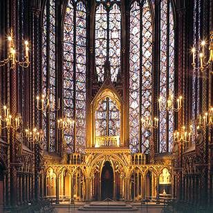wish i'd gone here when i was in paris, but i'll add it to my wish list - La Sainte Chappelle: