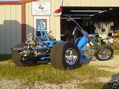 Custom Built Motorcycles Custom Old Skool Vw Chopper Trike ...