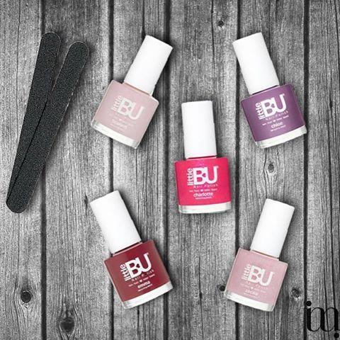 Speciaal voor de kleine meisjes die graag hun nagels willen lakken! Super mooie nagellak van Little Bu!