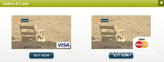 Seaside-inspired debit card. Visa or Mastercard gift card in any $ amount can be personalized by you. Photo by Paula Parks Fulford, aka SnailMailNotes & LoneStarLifer.: Gifts Cards, Giftcard Com Predesign, Cards Site, Debit Cards, Gift Cards, Photo, Seaside Inspiration Gifts, Mastercard Gifts