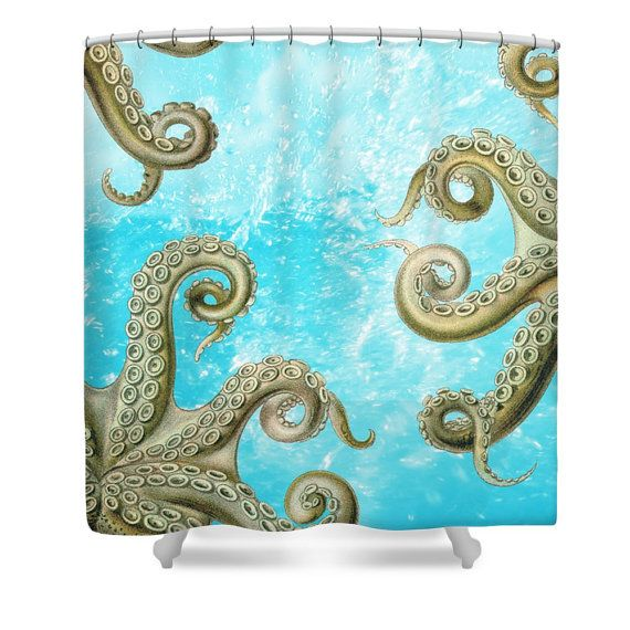 octopus shower curtain urban outfitters best 25 octopus shower curtains ideas on paul 140