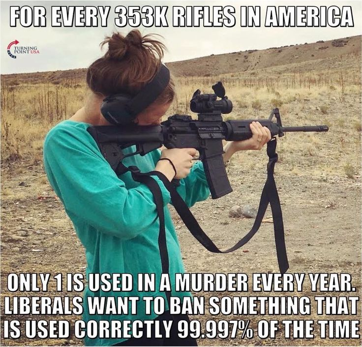 Gun control is more about control