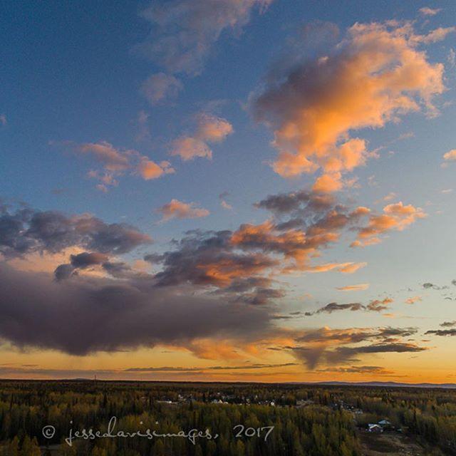 North Pole, Alaska sunset, May 11, 2017. ⠀  ⠀  © jessedavisimages, 2017⠀  #jessedavisimages ⠀  #blockai⠀  #drone #dji #dronestagram #droneoftheday ⠀  #dronefly #aerialphotography⠀  #dronesdaily #quadcopter #droneporn⠀  #dronephotography #djiphantom ⠀  #fromwhereidrone #dronelife ⠀  #flying #uav #instadrone #djiglobal #djidrone #djiphantom4pro+   #northpole #alaska