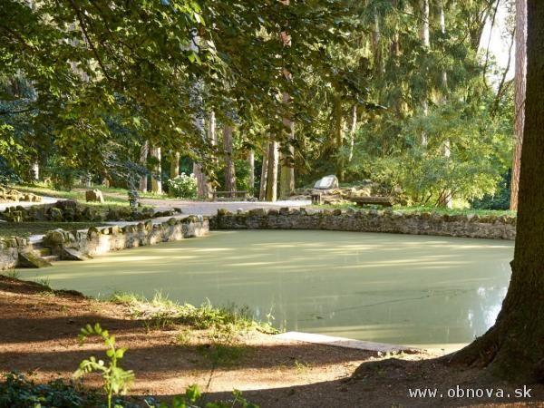 Zámocký park Topoľčianky eurofondy nezískal napriek tomu ho čaká obnova