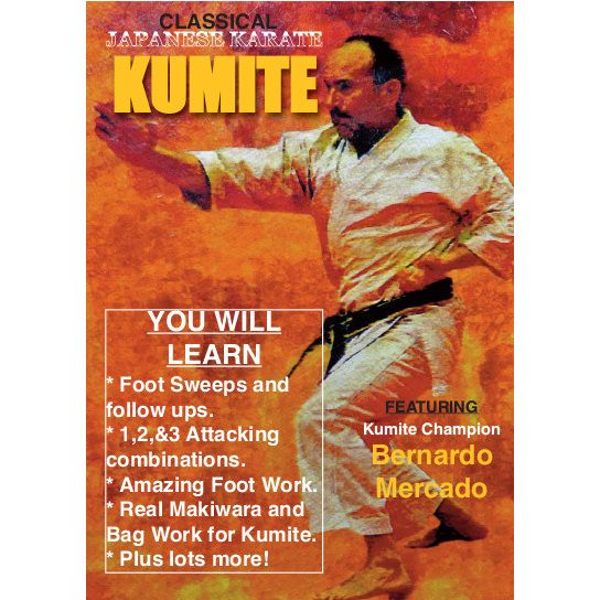 Traditional Japanese Karate Kumite #1 DVD Mercado shotokan sparring