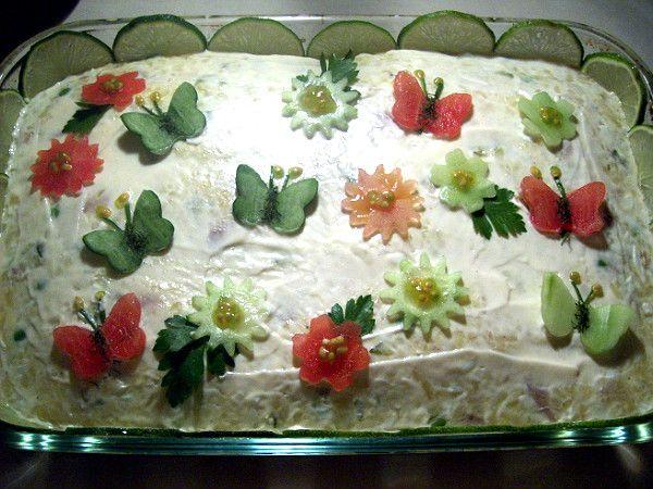 Jenny's Cookbook: Salad-e Olivieh (aka Salade Olivier) Persian Potato Salad Recipe