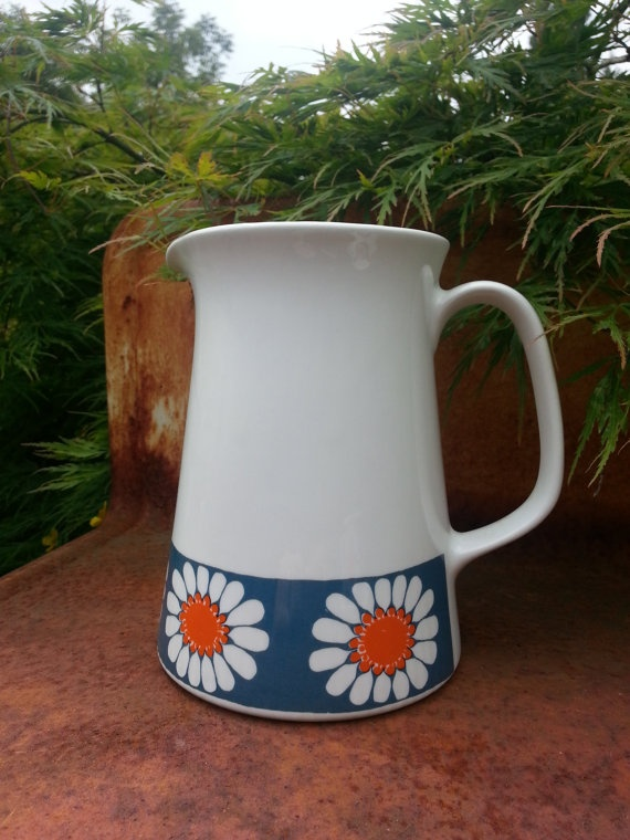 Vintage Figgjo Flint Turi Daisy design Norway by fcollectables, €45.00