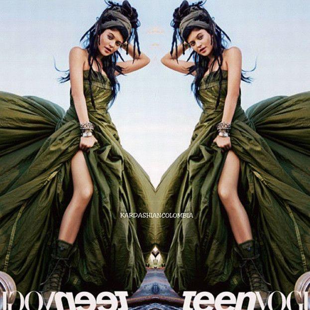 17-letnia Kylie Jenner: