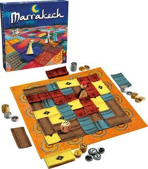 """Every gamer I know – both hardcore gamers and casual gamers – have a """"bucket list"""" of games they'd like to try/buy. Marrakech has been on mine for a very, very long time. Probably since it was nomi…"""