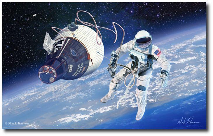 Our Own Personal Spaceships by Alan Bean (Apollo)