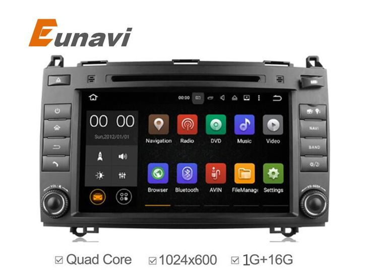 2 din 8 Inch Android Car DVD Player For Mercedes/Benz/Sprinter/W209/W169Viano/Vito/B200/A160 Wifi GPS Navigation Radio FM