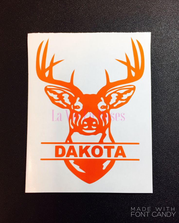 A personal favorite from my Etsy shop https://www.etsy.com/listing/484889952/flash-sale-buck-decal-for-yeti-rtic