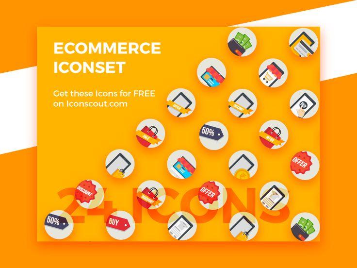 Ecommerce Iconset by Jemis Mali