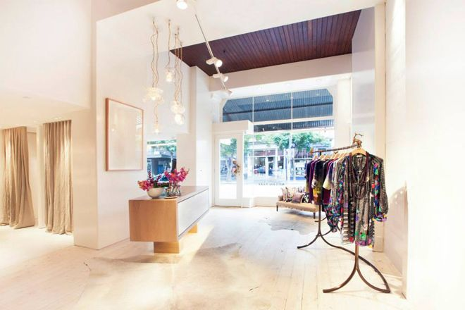 Shop Gertrude Street: Megan Park Featuring luxury fabrics, rich colours, delicate embroidery and highly embellished accessories, At 164 Gertrude St, Fitzroy. 9486 9993. Also at 1039 High St, Armadale, 9822 4092. #meganpark #fitzroy #armadale #gertrudestreet