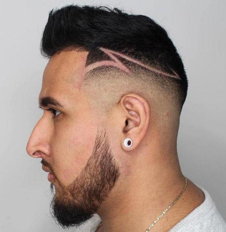 1470 melhores imagens de cheveux no pinterest - Coupe homme fondu ...