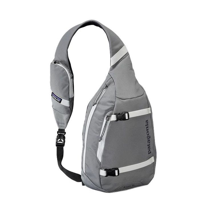 I heard these were great as packs. I want to check it out!  Patagonia Atom Sling 8L - Feather Grey FEA