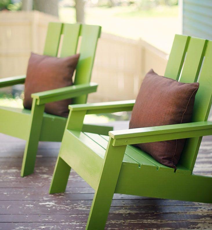 Modern Adirondack Chair Adirondack Chairs Diy Diy Furniture