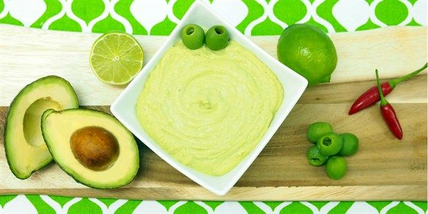 Avocado, Olive & Lime Dip