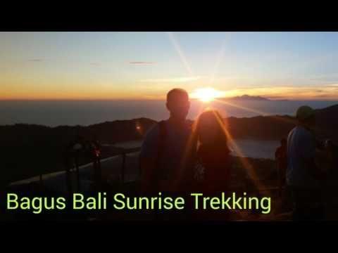 Sunrise trek : mount batur volcano kintamani bali trekking - YouTube