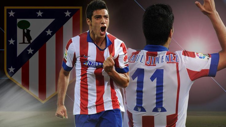 Mexican star Raul Jimenez playing in Atletico Madrid