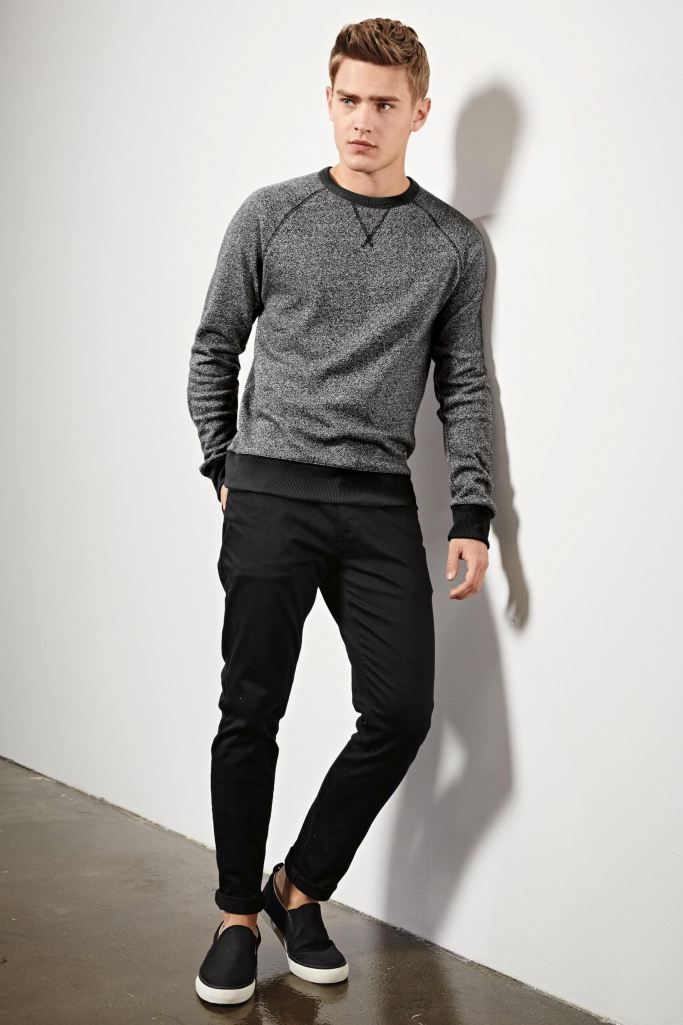 Bo Develius Dons Next Fall Suiting Styles Casual Essentials Models Fall Styles And Fall 2015