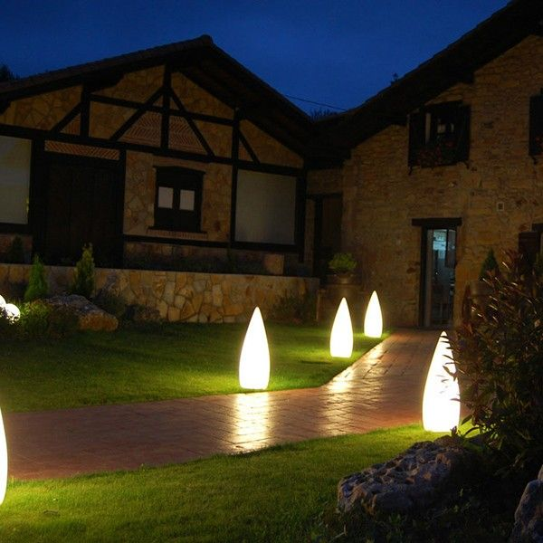 Kanpazar is an external lamp / bollard which can also be fitted internally. Made from vandal proof UV resistant polyethylene & combined with it's IP54 rating, this bollard light is the perfect solution for any outdoor installation. http://www.williedugganlighting.com/shop/b-lux-kanpazar-external-floor-lamp-bollard?path=18_68