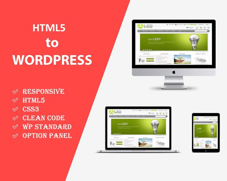 Most Affordable HTML5 to WordPress Conversion Services  Technical coding and its related conversions from HTML5 to WordPress are activities that you most definitely do not want to engage in unless you are trained in it.