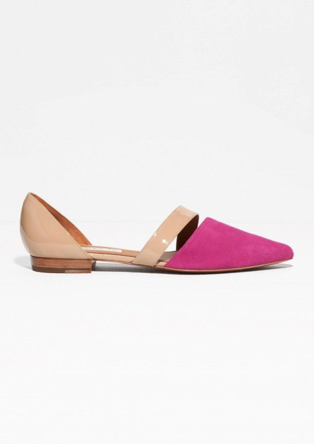 12 Flats We Love in Protest of Cannes' No-Flats Policy via Brit + Co