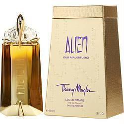 Alien Oud Majestueux By Thierry Mugler Eau De Parfum Refillable Spray 3 Oz