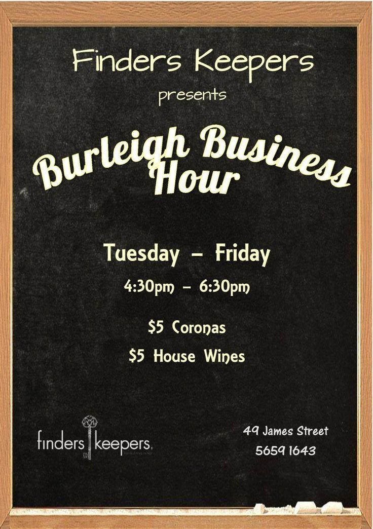 Burleigh Business Hour