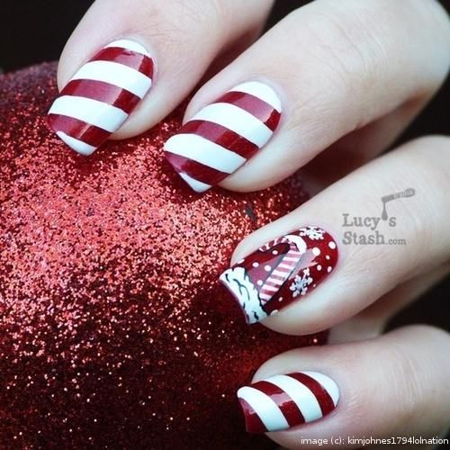 Celebrate the holiday season this month with these incredible, yet simple, awesome holiday nail art designs! Why pay for a manicure when you can do these yourself!?