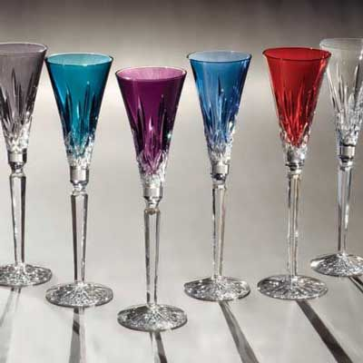 Waterford Crystal Lismore Jewels Flutes  These are absolutely beautiful, I would love to add them to my collection of crystal.