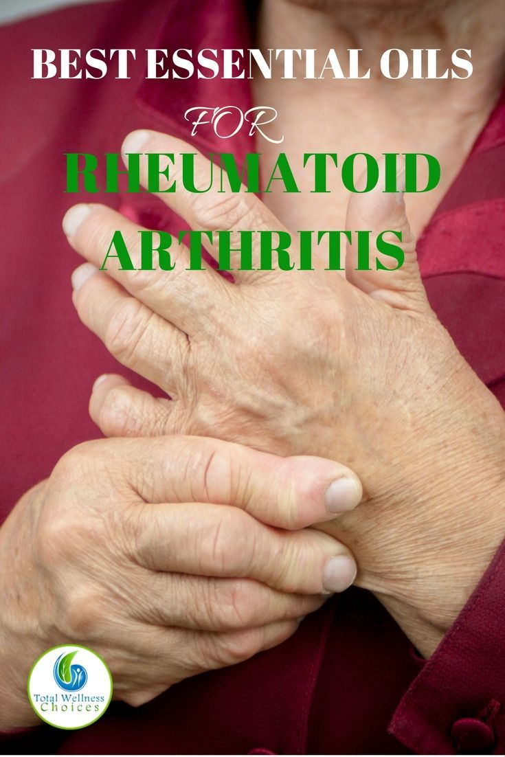 12 Best Essential Oils for Rheumatoid Arthritis. Learn how to relieve relieve arthritis pain naturally with essential oils.