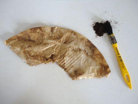 Aprenda como preparar o seu coador de café usado para ser usado em seus projetos de artesanato.