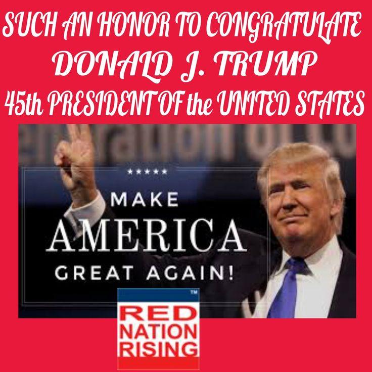RNR Kentucky (@RNRKentucky)   Twitter.......Congratulations @realDonaldTrump Donald J. Trump President of the united States of America Im a Proud American Thank You #RedNationRising.