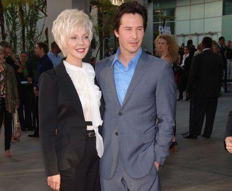 Keanu Reeves and Mom