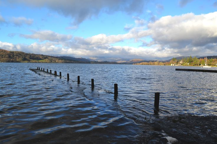 Looking at Lake Windermere from Millerground