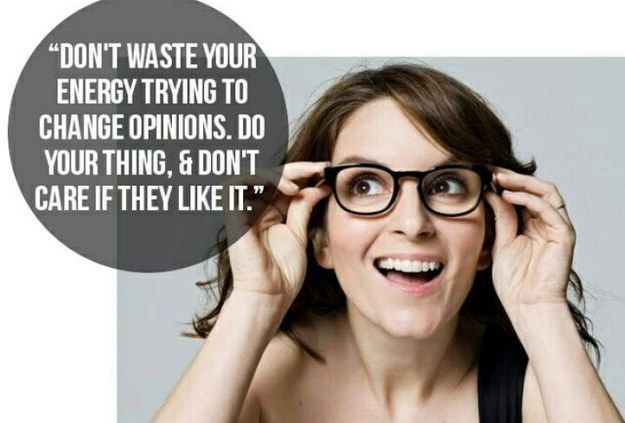 …and reminds us to embrace our individuality. | What's Your Favorite Tina Fey Quote?
