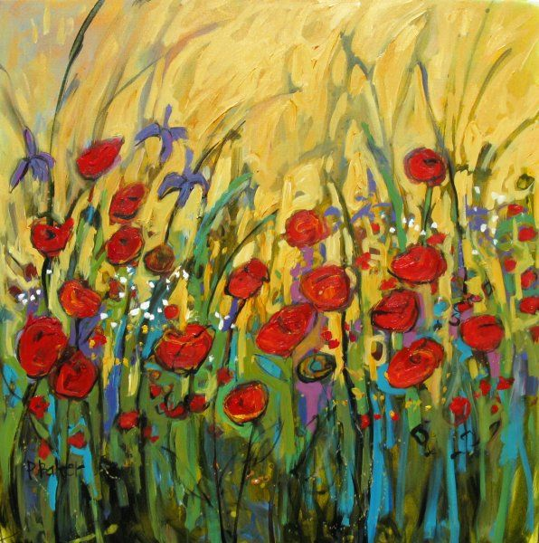 Simple Flower Garden Paintings 163 best patty baker paintings images on pinterest | acrylic
