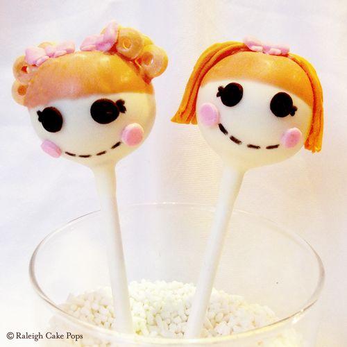 Lalaloopsy Cake Pops (Rag Doll Cake Pops)  Cake Pops  Pinterest