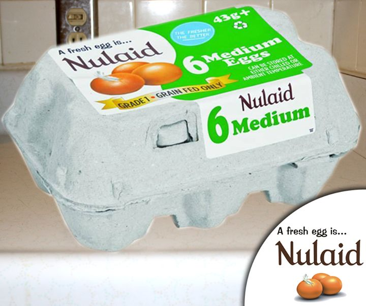 #Nulaid Farm Fresh Free Range eggs. Available in 6-packs in a variety of egg sizes, including Large; Extra Large and Jumbo. #fresheggs #freerange