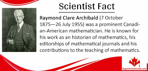 #ScientistFact #Scientist #raymond #mathematician #canadian Via DegreeFromCanada