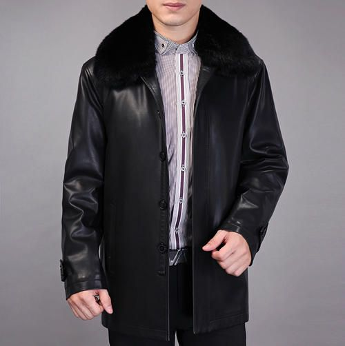 >> Click to Buy << 2017 Winter Leather Jacket Men Brand Leather Jacket Male medium-long Plus Velvet Black Leather Coat Men Plus Size M-XXXL #Affiliate