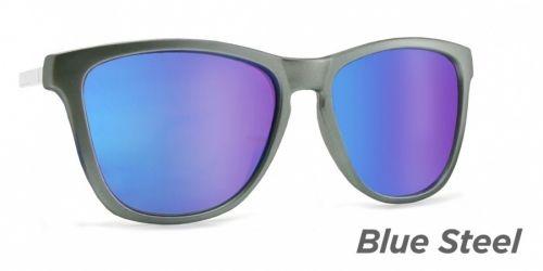 BLUESTEEL ramme Kjøp med ekstra ramme for flere valgmuligheter. Inkl linser, UV400.