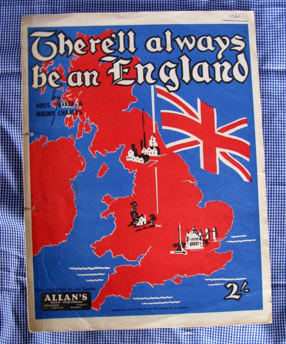 there ll always be an england sheet music pdf