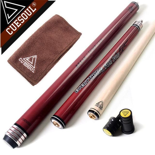 Cuesoul Maple Pool Cues Punch Jump Cue Pool Billiards Cue Stick 58 Inch 20oz With Good Q Cue Stick Billiards Pool Cues