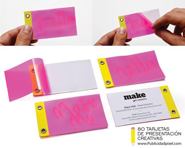 22 best tarjetas de presentaci u00f3n images on pinterest