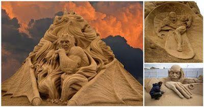 Tanto Alguma Coisa: 20 incríveis esculturas feitas na areia